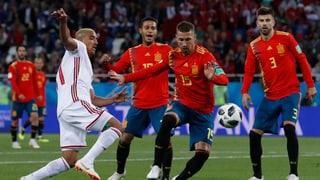 Spagna e Portugal en otgavelfinals