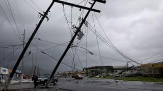 Auch fünf Tage nach Durchzug des Wirbelsturms sind weite Teile Puerto Ricos noch immer ohne Strom