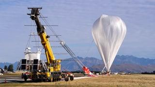 Riesen-Ballon auf Rekordflug