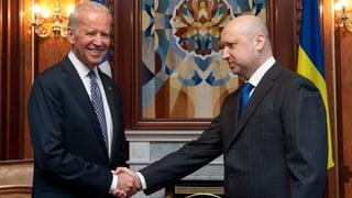 Biden verspricht Ukraine Hilfe – politisch und wirtschaftlich