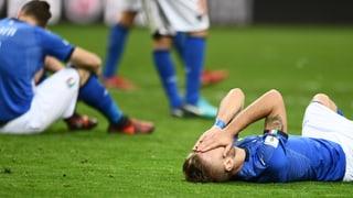 Apokalypse in Italien: Die «Squadra Azzurra» fährt nicht zur WM