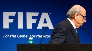 Das Ende der Ära Blatter: Der SRF-Liveticker zum Nachlesen