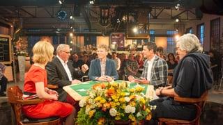 Kilchspergers Jass-Show Das war die fünfte Ausgabe der «Kilchspergers Jass-Show» aus Thun