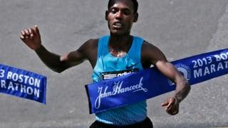 Äthiopier Lelisa Desisa gewinnt Boston-Marathon