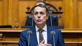 Ignazio Cassis wird neuer Aussenminister