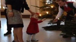 Prinzessin Estelle auf vorweihnachtlicher Entdeckungstour