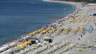 Raketenbeschuss in Ferienregion Antalya