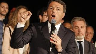 Matteo Renzi ist zurück