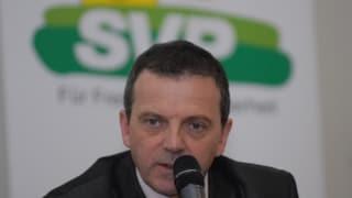 Solothurner SVP nominiert Walter Wobmann für den Ständerat