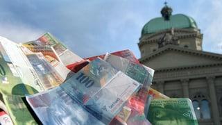 Confederaziun spargna 635 milliuns francs