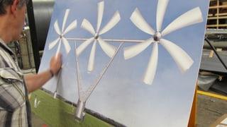 Hans Wepfer: Der Daniel Düsentrieb der Windräder stellt seine Idee vor