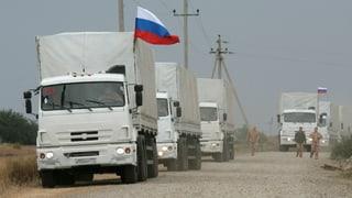 Neuer russischer Konvoi in der Ukraine eingetroffen
