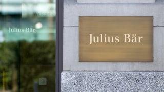«Julius Bär benötigt die Einigung dringend»
