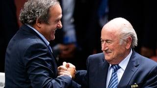 Blatter und Platini kämpfen gegen ihre Suspendierung