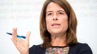 Gössi: «Herkunft ist Erschwernis für Isabelle Moret»