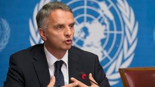 Syrien-Konflikt: Schweiz macht Druck bei der UNO