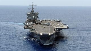 US-Flugzeugträger nimmt Kurs auf Koreanische Halbinsel