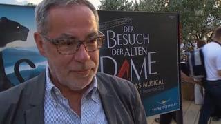 Alexander Tschäppät: «Dürrenmatt als Musical? Mutig!»