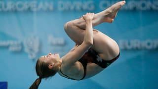 Historisch: Erste Schweizer Medaille im Wasserspringen