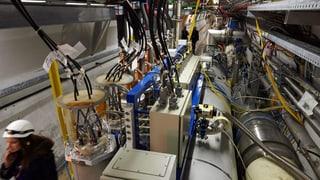 Cern: Neue Suche nach der Dunklen Materie