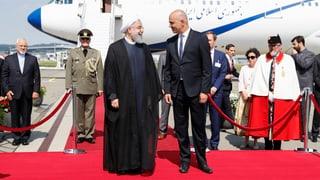 Irans Präsident in Bern eingetroffen