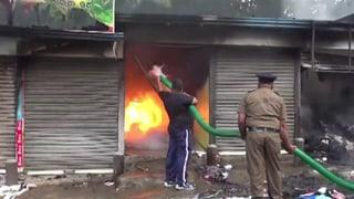 Social-Media-Posts sollen Buddhisten zur Jagd auf Muslime angestachelt haben, sagt die Regierung in Sri Lanka.