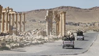 IS erobert Palmyra zurück