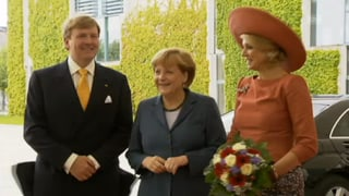Willem-Alexander und Máxima: Erste Auslandsreise als Königspaar