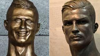 Neue CR7-Büste sieht Ronaldo nun auch ähnlich