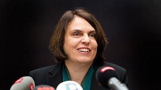 Elisabeth Ackermann: «Will keine ungelegten Eier verkaufen.»