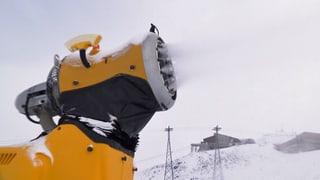 Schon laufen die ersten Schneekanonen – und das aus gutem Grund