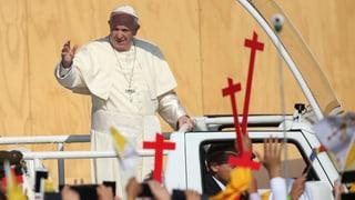 Papst Franziskus bittet in Chile um Verzeihung
