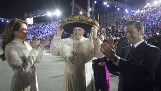 Der Papst auf Tuchfühlung mit dem mexikanischen Volk