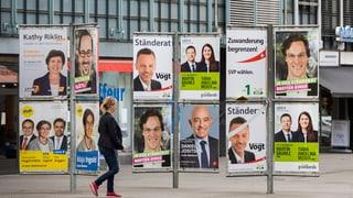 Wahlplakat-Vandalismus: «Armutszeugnis für Demokratie» (Artikel enthält Video)