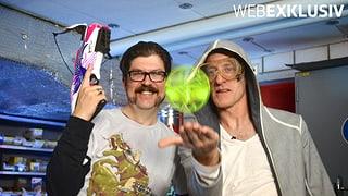 Gadgets für KIM, Folge 3 – «Tellspiele» (Artikel enthält Video)