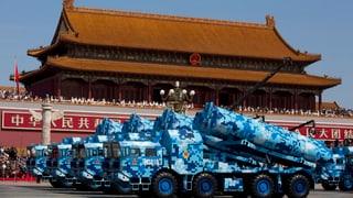 China feiert sich als Friedensstifter mit Antischiffsraketen