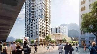 Neue Luzerner Saalsporthalle wird mit Hochhäusern finanziert