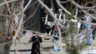 Zwei Tote bei Selbstmordanschlag auf US-Botschaft in Ankara
