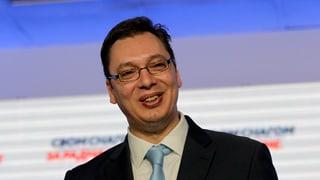 Politisches Erdbeben in Serbien