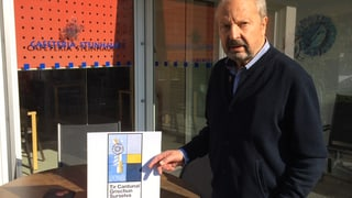 Rudolf Mirer ha creà il logo per la festa chantunala da tir 2018