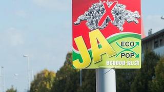 Ecopop-Initiative: Aargauer und Solothurner SVP sind dafür