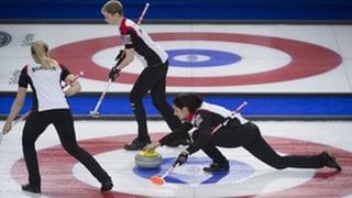 Las dunnas svizras da curling sin buna via da cuntanscher playoff
