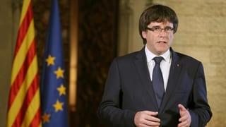 Puigdemont renfatscha in putsch a la Spagna