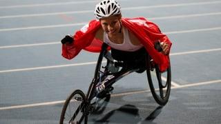 Debrunner gewinnt auch über 800 m eine Medaille