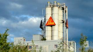 Trotz anhaltendem Übernahmestreit - Sika meldet Rekordzahlen