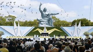 68 Jahre nach Atombombe: Trauer und Wut in Nagasaki