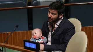 Neuseelands «First Baby» stiehlt bei der UNO allen die Show