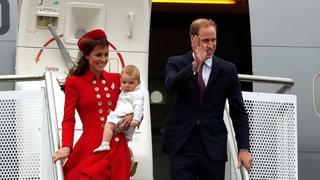Kate, William & George: Stürmische Ankunft in Neuseeland