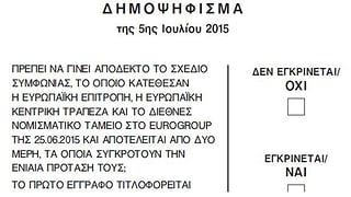 Darüber sollen die Griechen abstimmen