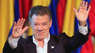 Der Friedensnobelpreis geht an Juan Manuel Santos